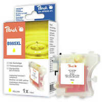 Genuine Peach B985XL Yellow Ink Cartridge for Brother LC-985 Printers PI500-41