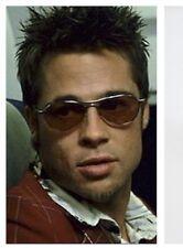 4e284710529 RARE New OLIVER PEOPLES AERO Aviator Chrome Violet SUNGLASSES OV 1005S Brad  Pitt