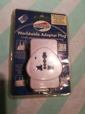 Adaptor Plug American Tourister Worldwide White