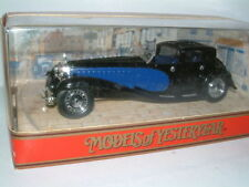 Matchbox Models of Yesteryear Bugatti Diecast Vehicles