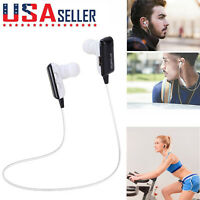 NEW Bluetooth Headset Wireless Sport Stereo Headphones Earphone Earbuds With Mic