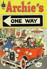 ARCHIE'S ONE WAY VG, Jughead Veronica & Betty app., Spire Christian Comics 1973