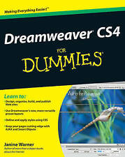 Dreamweaver CS4 for Dummies (For Dummies (Computers)), By Warner, Janine,in Used