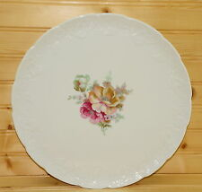 """Lierre Sauvage France, Cake Plate, 11 5/8"""", Flowers"""