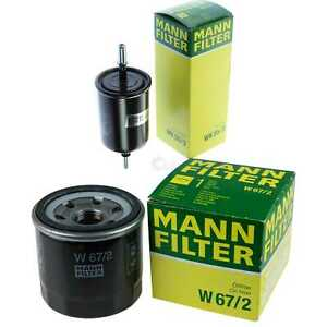 MANN-FILTER PAKET Öl Kraftstoff Daewoo Matiz KLYA 0.8 1.0 Chevrolet Spark