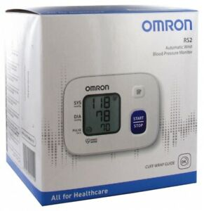 Omron -  RS2 Automatic Wrist Blood Pressure Monitor - New  FREE POST