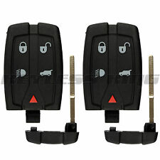 2 Replacement Remote Key Fob Shell Pad Case Only for 2008-2012 Land Rover LR2