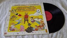 33t lp chansons originales des génériques T.V winnie bibifoc minipouss...