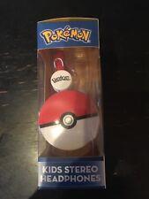 OTL Technologies - Pokémon Pokeball Headphones for Children Aged 3-7 Years