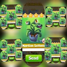 25x Martian Lettuce ### Coin Master Cards (Fastest Delivery)