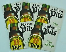 Holsten Pils. The odd lager. Five Beer Pads. Excellent condition. (BI#BX87)