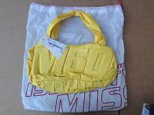 Miss Sixty una borsa. GIALLO. NUOVO con etichetta. con COPERCHIO antipolvere borsa.