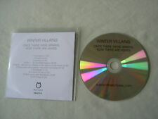 WINTER VILLAINS Once There Were Sparks, Now There Are Ashes promo CD album