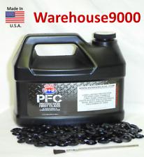 Gallon PFC Rust Proofing Undercoating w/ 100 Rust plugs & Applicator Brush