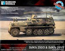 Rubicon Models 28mm 1/56 scale World War 2 German SdKfz 250/251 Expansion kit
