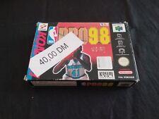 NBA PRO 98 NINTENDO 64 N64  PAL