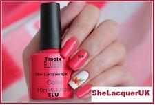Bluesky TROPIX 40505 Summer colour coral UV/LED Soak Off Gel  Nail Polish Free P