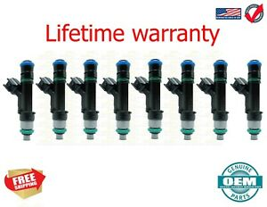 X8 Genuine Bosch Fuel Injectors For 2009-2010 Ford F-150 5.4L 0280158174