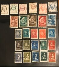 NETHERLANDS postage stamps lot of 26  old
