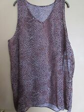 Brown leopard pattern beach cover up top George 20