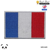 France National Flag Embroidered Iron On Sew On PatchBadge For Clothes etc