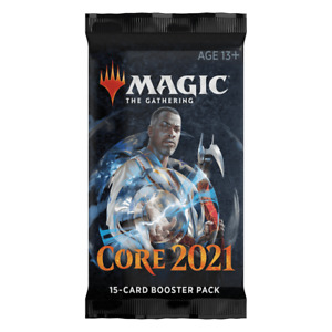 2021 Core Set Draft Booster Pack - Magic The Gathering MTG Sealed