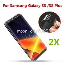 2Pack 3D Curved Full Cover For Samsung Galaxy S8 Plus HD Clear Screen Protector