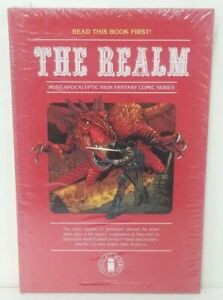 THE REALM (2018) Vol 1 Variant Hardcover New Sealed Image Comics D & D Homage