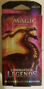 Magic The Gathering Commander Legends Collector Booster Pack 15 Cards pack
