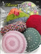 Crochet Accent Pillows | Annie's Attic 874153 NEW! CLEARANCE!