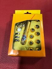 Hi-Output Key Chain Laser Pointer, 9 Masks. New, in Box.