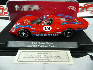 NSR 1:32 0219SW P68 FORD Martini Racing RED #19 suit scalex/carrera