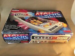 Tomy Atomic Pinball Game - Vintage - Arcade - Retro