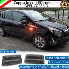 COPPIA FRECCE LATERALI 36 LED DINAMICHE SPECIFICHE OPEL CORSA D CANBUS DINAMICA
