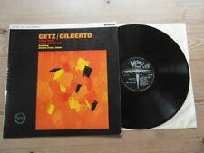 STAN GETZ/JOAO GILBERTO-SUPERB Ist UK PRESS-MONO-VERVE-GREAT AUDIO-EX LP 1964