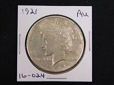 1921 Peace Dollar  AU  (16-024)