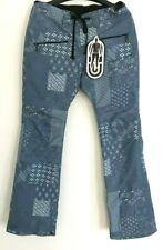 NWT Airblaster Womens Party Pant Pants M Medium 10K Blue Snowboard pr916