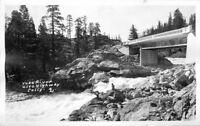 1960s Twin Bridges California Yuba River RPPC Photo Postcard 12200