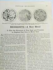 Mar 1929 Ma 00006000 Gazine Page #A216- Meehanite- A New Metal- 2 Pgs