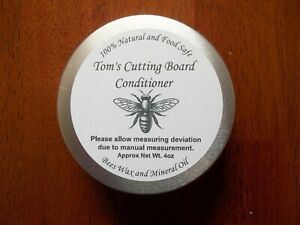 Cutting Board Conditoner    100% Natural Beeswax & Mineral Oil - Food Safe