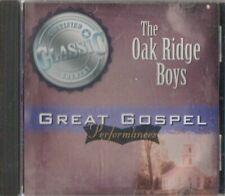 C.D.MUSIC   J691  THE OAK RIDGE BOYS  GREAT GOSPEL PERFORMANCES