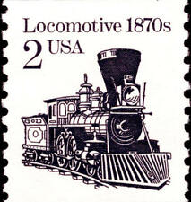 1987 2c Locomotive, Coil Scott 2226 Mint F/VF NH