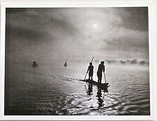 Sebastiao Salgado PRINT 11 Tribal River Travelers in Brazil  2005 13x10