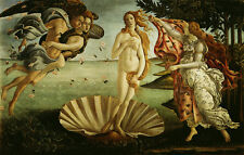 The Birth Of Venus by Sandro Botticelli Giclee Fine Art Canvas Print