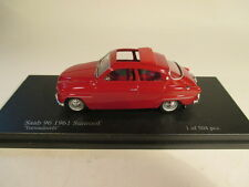 Trofeu SMNC030 Saab 96 red sunroof 1961 The Nordic Collection 1:43 MIB