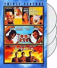 Jamie Foxx Triple Feature: Breakin All The Rules,  Booty Call, Stealth (DVD) NEW