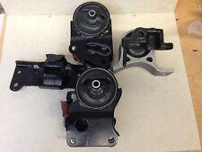 Motor Mount w/Sensor + Wire & Trans Mount Set 4PCS for 03-07 Murano 3.5L 2wd