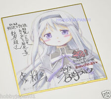 Puella Magi Madoka Magica The Movie Rebellion Autograph Board Homura