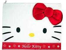 New Sanrio Hello Kitty File Holder - Document Folder Bag ( fabric bow )