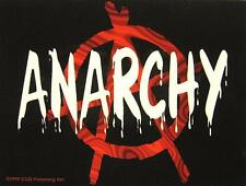 ANARCHY AUFKLEBER / STICKER # 3 - PVC WETTERFEST